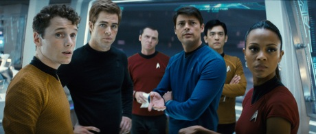 The new crew of Star Trek XI